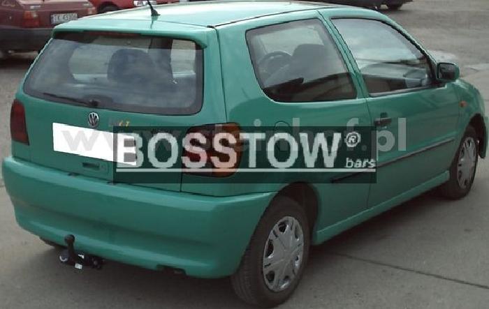 Anhängerkupplung VW-Polo (6N)Steilheck / Coupé, Baureihe 1994-1999 Ausf.:  feststehend
