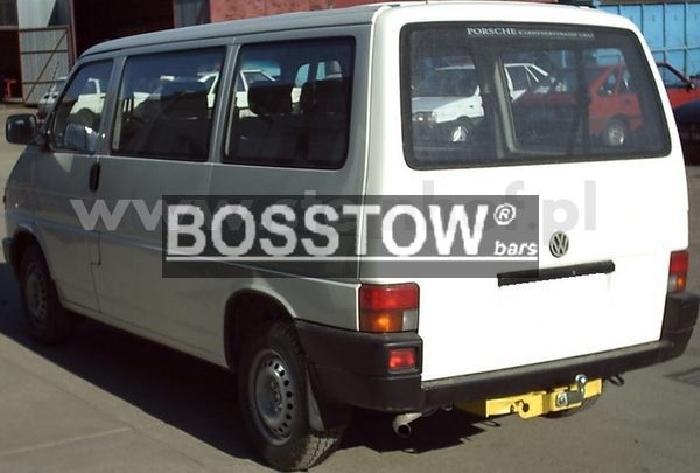 Anhängerkupplung VW-Transporter T4, Kasten Bus inkl. Caravelle Multivan, nicht Syncro, Baureihe 1996-1998