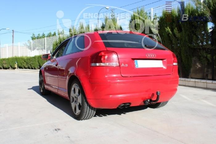 Anhängerkupplung für Audi-A3 3-Türer, nicht Quattro + S3, Baureihe 2008-2011  feststehend