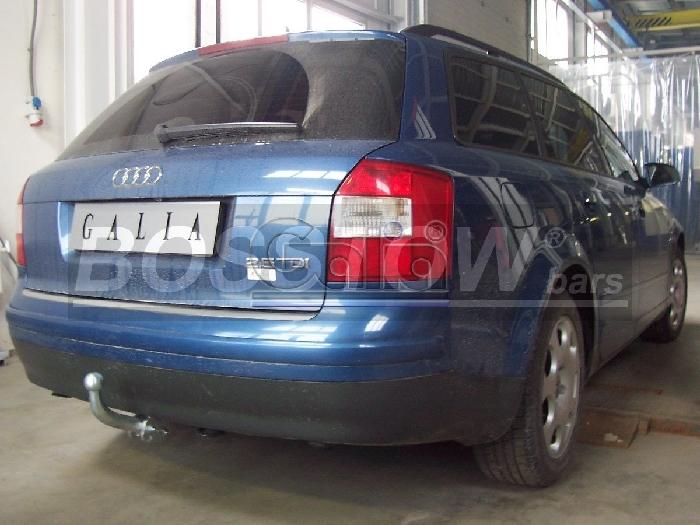 Anhängerkupplung Audi-A4 Avant nicht Quattro, nicht RS4 und S4, incl. S-line, Baureihe 2001-2004