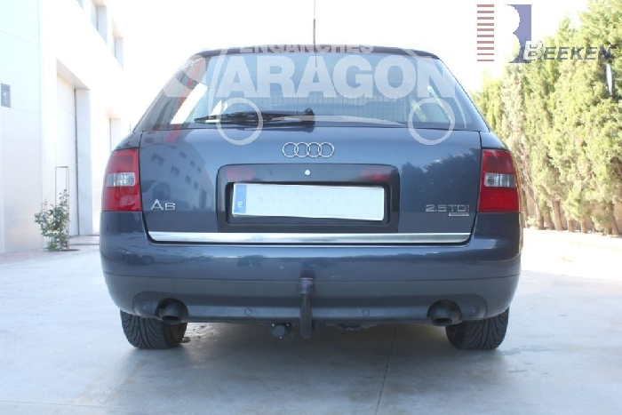 Anhängerkupplung Audi-A6 Avant 4B, C5, nicht Quattro, nicht Allroad, Baureihe 1998-2004