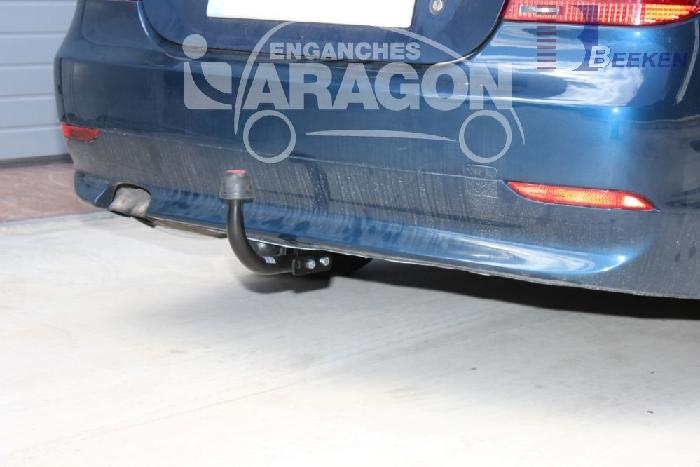 Anhängerkupplung für BMW-5er Touring E61, spez. M- Paket, Baureihe 2007-  feststehend