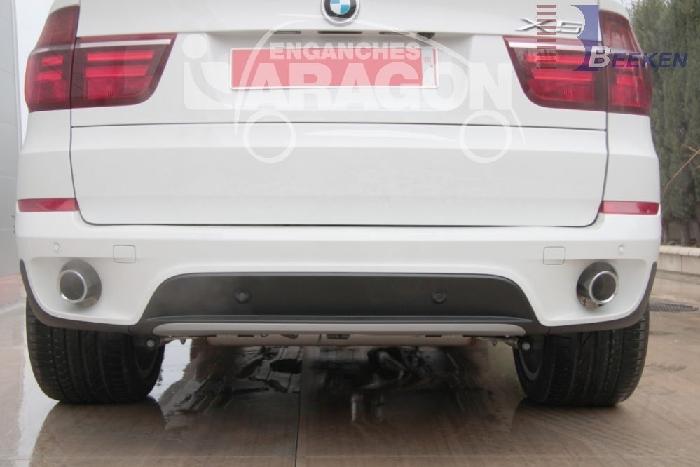 Anhängerkupplung für BMW-X5 E70, Baureihe 2007-2013  vertikal