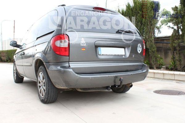 Anhängerkupplung für Chrysler-Voyager, Baureihe 2001-2008  feststehend