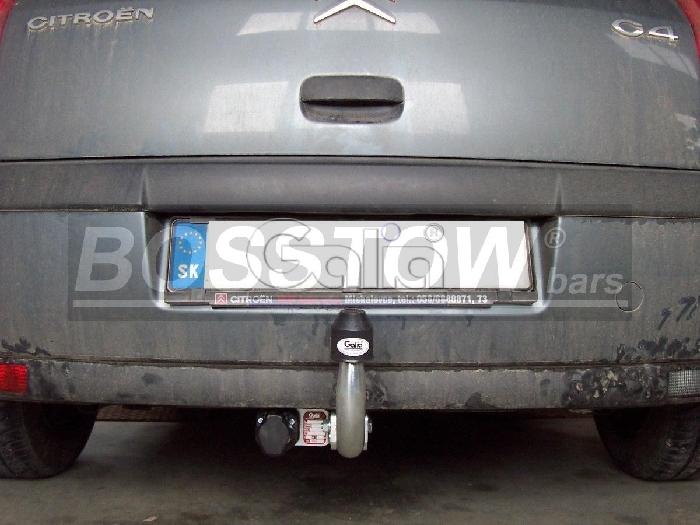 Anhängerkupplung für Citroen-C4 Limousine Pallas, Baureihe 2008-  feststehend