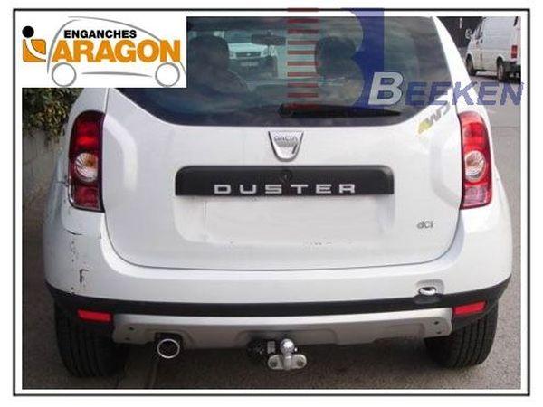 Anhängerkupplung für Dacia-Duster SUV 2WD und 4WD, Baureihe 2013-2017  feststehend