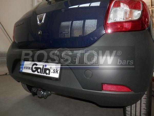 Anhängerkupplung für Dacia-Sandero Fließheck, speziell LPG Fahrzeuge, Baureihe 2013-2016  feststehend