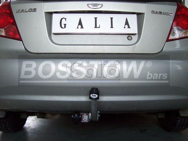 Anhängerkupplung für Chevrolet-Kalos Fließheck, Baureihe 2002-2006  feststehend
