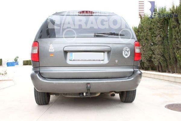 Anhängerkupplung Dodge-Mini Ram Van 2 + 4WD, Baureihe 2001-2008