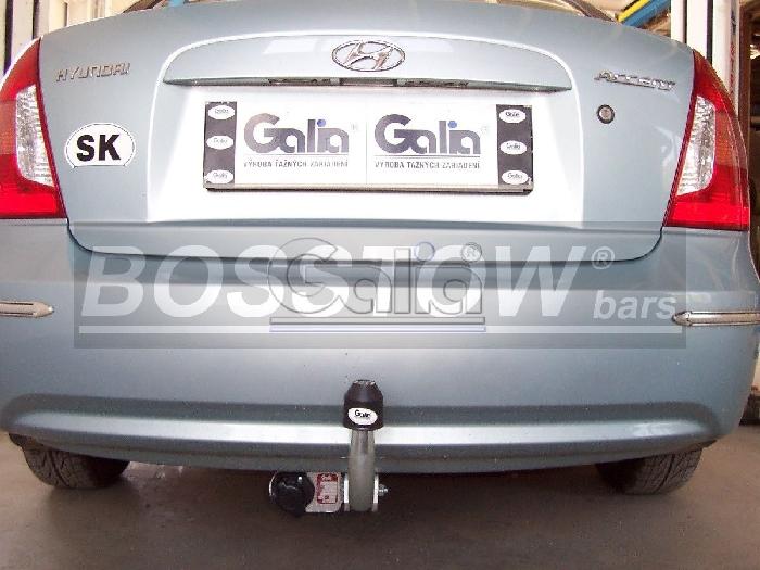 Anhängerkupplung Hyundai Accent Fließheck Lim, Baureihe 2006-  feststehend