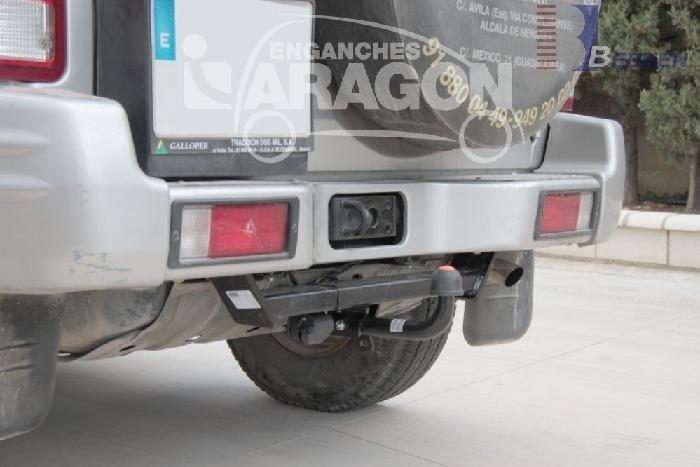 Anhängerkupplung Hyundai-Galopper kurzer Radstand, Baureihe 1998- Ausf.:  feststehend