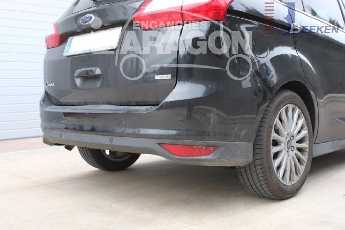 Anhängerkupplung für Mazda-3 Fließheck, nicht für MPS, Baureihe 2009-2013  vertikal