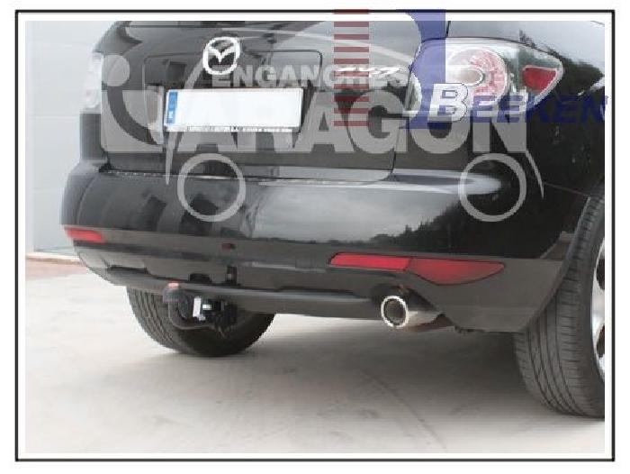Anhängerkupplung Mazda-CX- 7 Benzinmotor, Baureihe 2009-