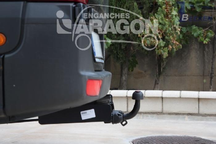 Anhängerkupplung für Mercedes-Sprinter Kastenwagen Heckantrieb 209-324, Radstd. 3665mm, Fzg. ohne Trittbrettst., Baureihe 2006-2018  feststehend