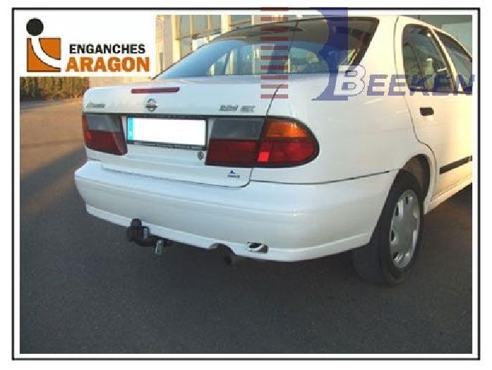 Anhängerkupplung Nissan-Almera N15, Limousine, Baureihe 1995-2000 Ausf.:  feststehend