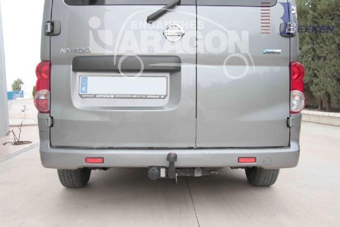Anhängerkupplung Nissan-Evalia, Baureihe 2011-,