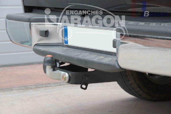 Anhängerkupplung Nissan-Pick-Up NP300 D23, Fzg. mit Trittstoßfänger, Baureihe 2015-2018