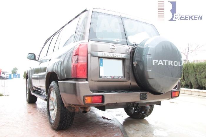 Anhängerkupplung Nissan-Patrol Typ Y 61, Baureihe 2004-