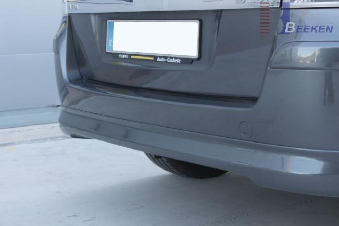 Anhängerkupplung Opel-Zafira B, Van, Fzg. mit REC, Baureihe 2005-2015 Ausf.:  vertikal
