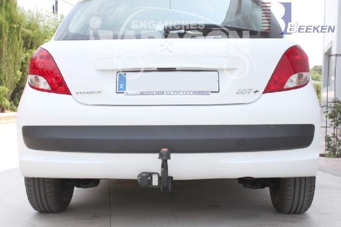 Anhängerkupplung Peugeot-208 I, Fließheck, Baureihe 2012-2019 Ausf.:  feststehend