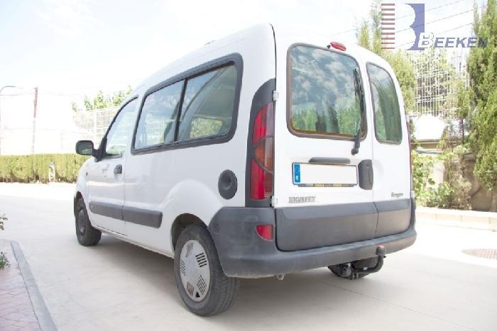 Anhängerkupplung für Renault-Kangoo I nicht 4x4, Baureihe 1998-2002  feststehend