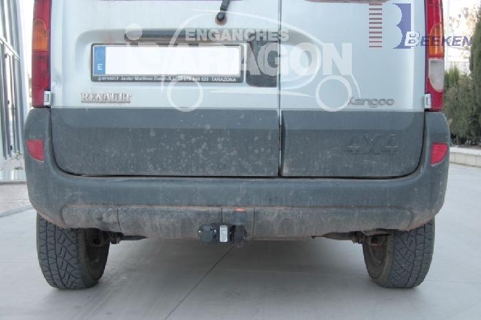 Anhängerkupplung für Renault-Kangoo I nur 4x4, Baureihe 1997-1998  feststehend