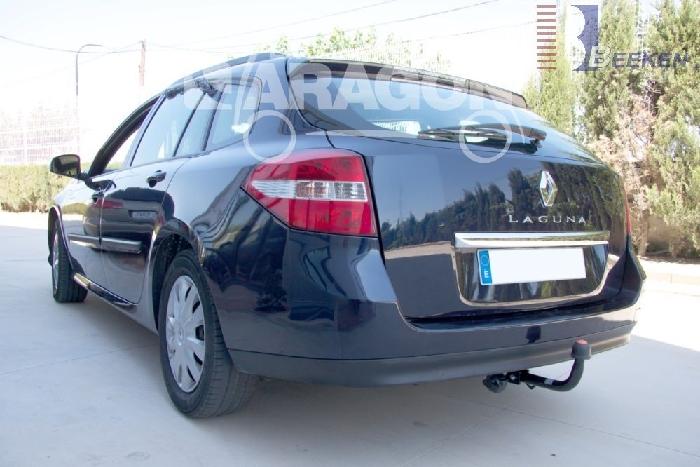 Anhängerkupplung für Renault-Laguna Kombi, Grandtour, nicht GT 4 Control, Baureihe 2007-  feststehend