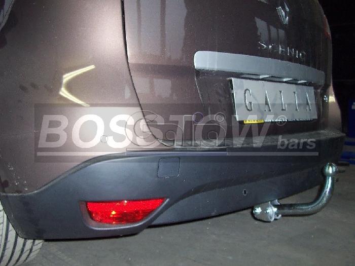 Anhängerkupplung Renault Scenic Scenic III, Baureihe 2008-2013  feststehend