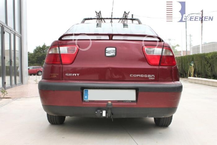Anhängerkupplung Seat Cordoba SX, Coupé, Baureihe 1996-1999  feststehend