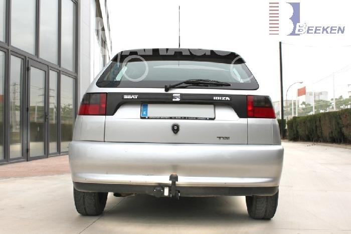 Anhängerkupplung Seat Ibiza Fließheck, nicht Cupra, GLX, GTI, Baureihe 1996-1999  feststehend