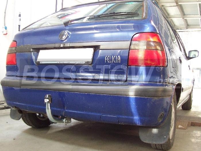 Anhängerkupplung für Skoda-Felicia Fließheck, Baureihe 1995-2001  feststehend