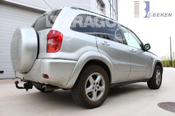 Anhängerkupplung für Toyota-RAV 4 III (A2) 2 + 4WD, Baureihe 2000-2006  feststehend