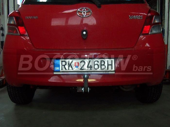 Anhängerkupplung Toyota Yaris Fließheck, Baureihe 2005-2009  feststehend