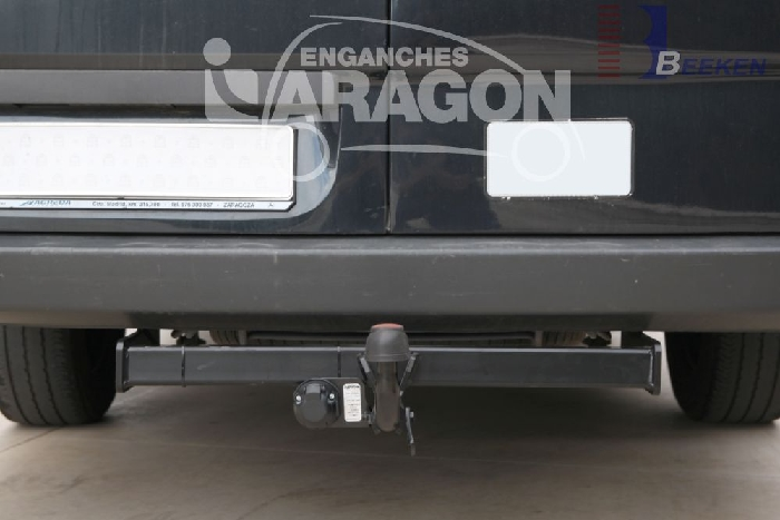 Anhängerkupplung VW Crafter I 50, Kasten, Radstd. 3250mm, Fzg. ohne Trittbrettst., Baureihe 2006-2017  feststehend