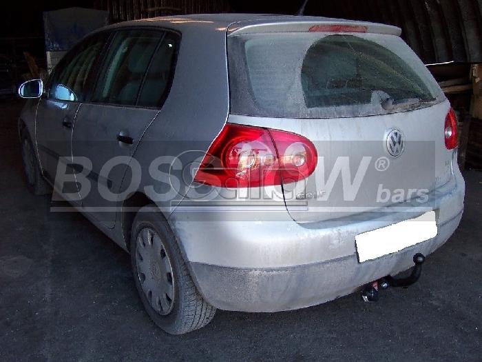 Anhängerkupplung VW Golf VI Limousine, nicht 4x4, Baureihe 2008-  feststehend