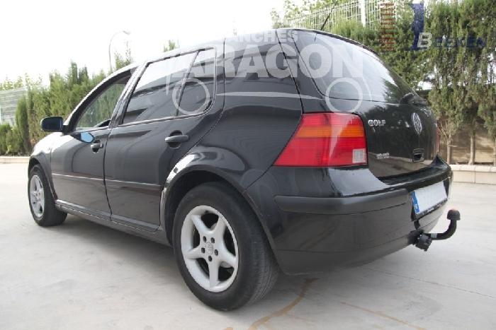 Anhängerkupplung für VW-Golf IV Limousine, nicht Syncro / 4-Motion, Baureihe 1997-  feststehend
