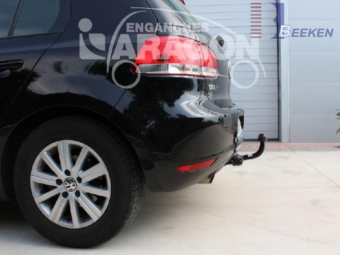 Anhängerkupplung für VW-Golf VI Plus, Baureihe 2008-  feststehend