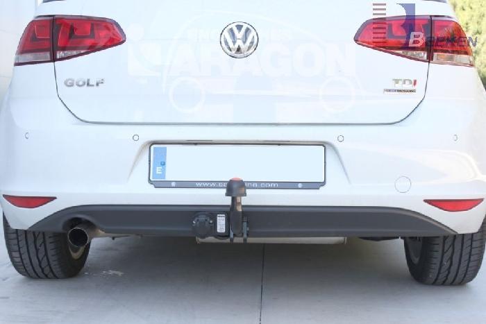 Anhängerkupplung VW-Golf VII Limousine, nicht 4x4, Baureihe 2014-2017