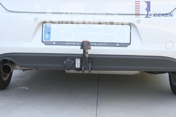 Anhängerkupplung für VW-Golf VII Sportsvan, Baureihe 2013-2018  feststehend