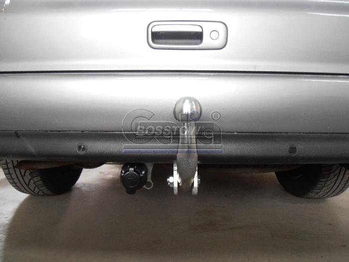 Anhängerkupplung für VW-Sharan inkl. 4x4, Baureihe 2000-2006  feststehend