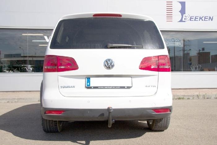 Anhängerkupplung VW-Touran Van, auch f. Modell Cross, Baureihe 2007-2010
