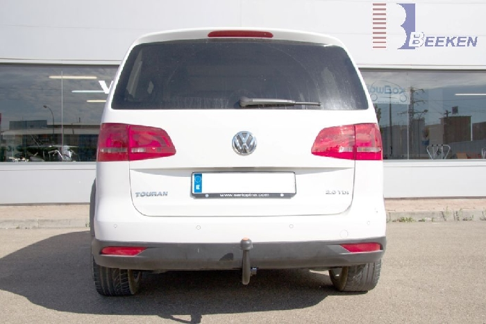 Anhängerkupplung VW-Touran Van, auch f. Modell Cross, Baureihe 2010-2015