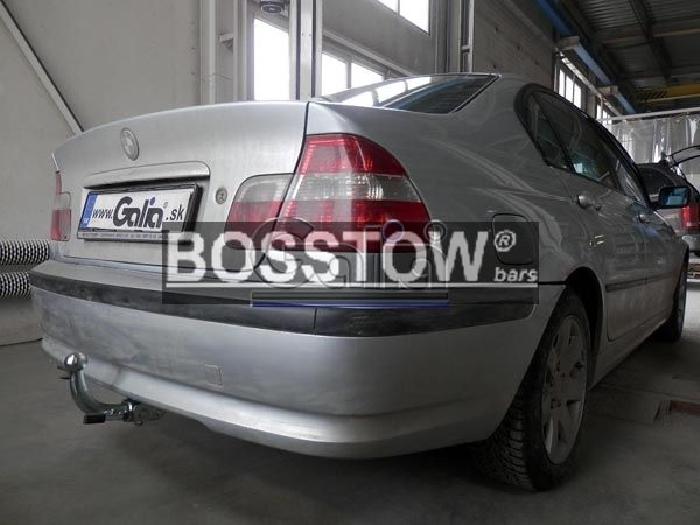Anhängerkupplung für BMW-3er Compact, E46/5, Baureihe 2001-  horizontal