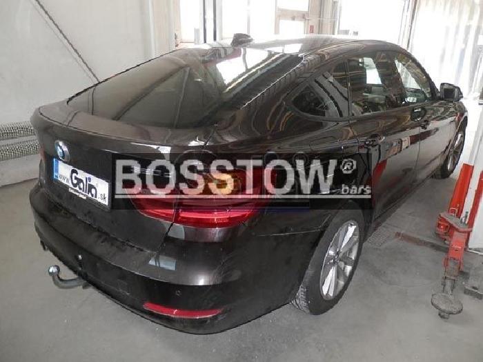 Anhängerkupplung für BMW-3er GT F34, Baureihe 2014-  horizontal
