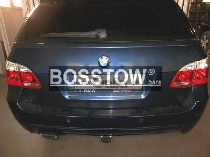Anhängerkupplung für BMW-5er Touring E61, spez. M- Paket, Baureihe 2007-  horizontal