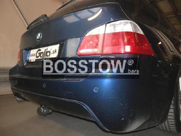 Anhängerkupplung für BMW-5er Limousine E60, Baureihe 2003-2007  horizontal