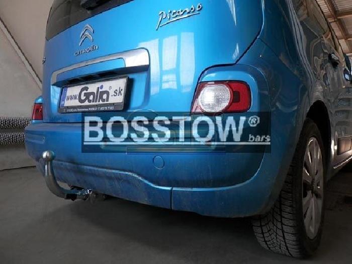Anhängerkupplung für Citroen-C3 Picasso, Baureihe 2009-  horizontal