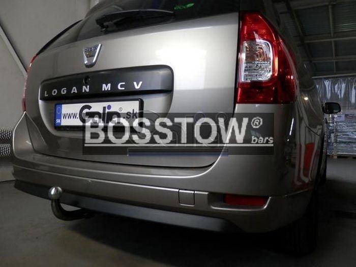 Anhängerkupplung Dacia-Logan Kombi MCV, Baureihe 2013- Ausf.:  feststehend