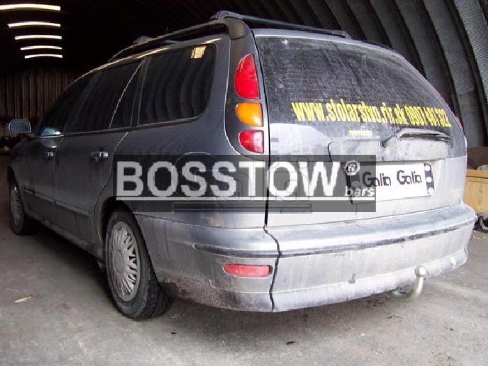 Anhängerkupplung für Fiat-Marea Kombi Weekend, Baureihe 1996-2002  horizontal