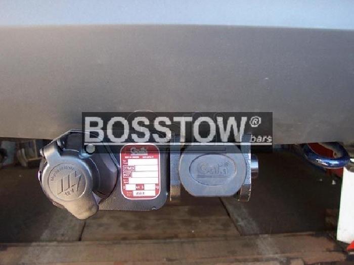 Anhängerkupplung für Ford-Fiesta Fließheck, VI, nicht Fzg. mit Parktronic, Baureihe 2005-2008  horizontal